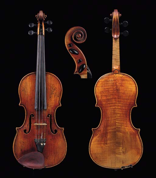 an interesting violin