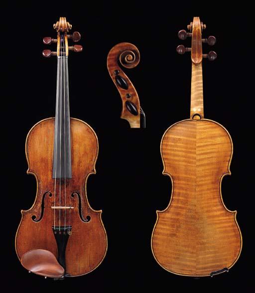 an 18th century italian violin