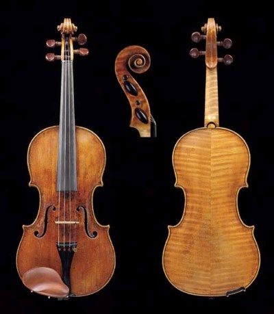 an 18th century italian violin