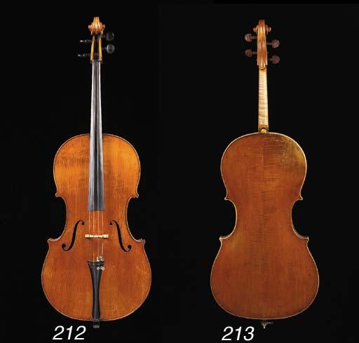 a neapolitan violoncello