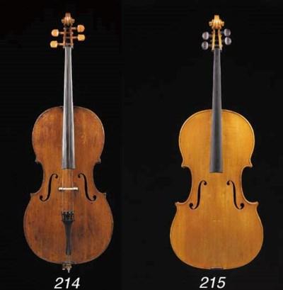a milanese violoncello