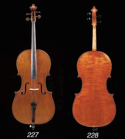 a violoncello