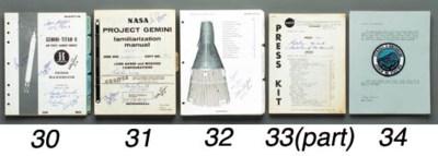 Cloth Gemini 3 Mission Patch.
