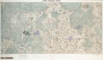 [MAP]. Lunar Planning Chart. J