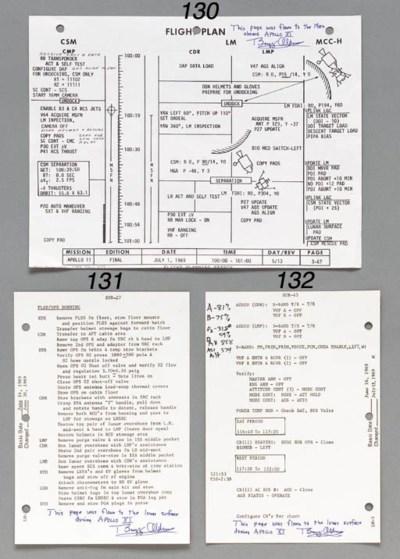 [FLOWN CHECKLIST PAGE]. Apollo