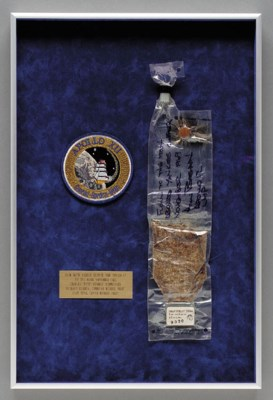FLOWN food packet from Apollo