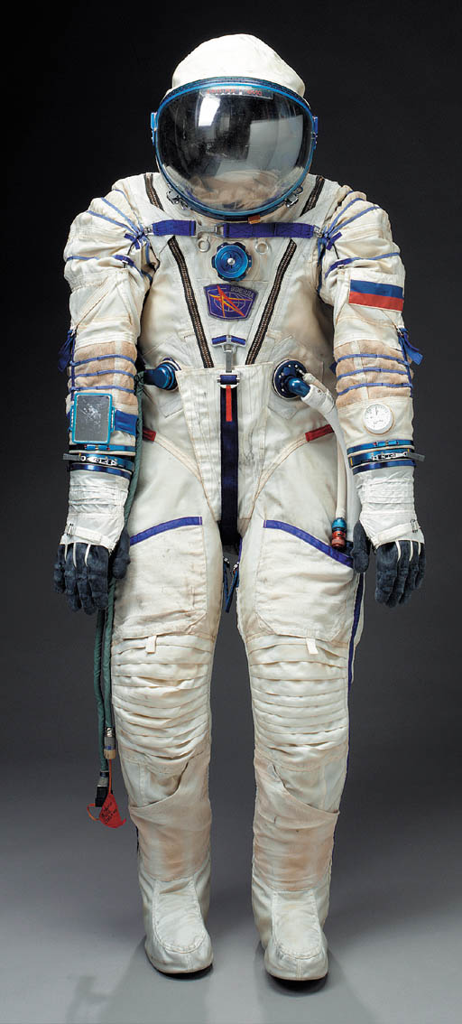 Russian Sokol Space Suit.  A c
