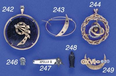 FLOWN Apollo-Soyuz Jewelry. A