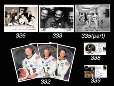 [APOLLO 11]. A NASA b&w photo