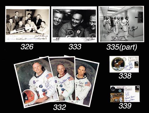 [APOLLO 14]. 3 NASA photos. A