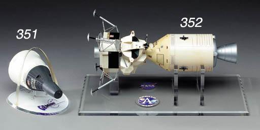 NASA Apollo Lunar Module and C