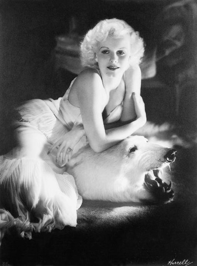 JEAN HARLOW OVERSIZED PHOTOGRA
