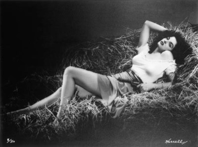 JANE RUSSELL OVERSIZED PHOTOGR