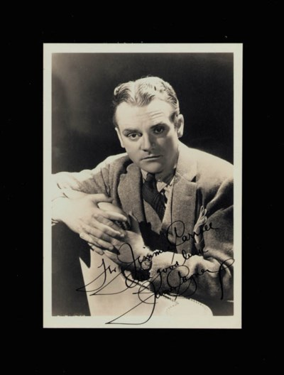 JAMES CAGNEY SIGNED PHOTOGRAPH