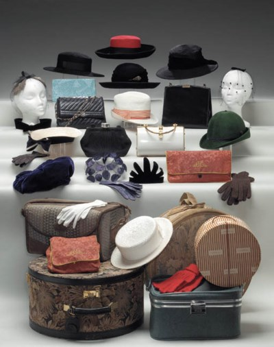 BETTE DAVIS COLLECTION OF HATS