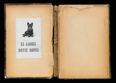 BETTE DAVIS BOOK TITLED 'LA CO