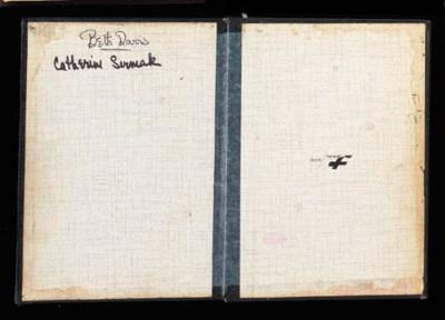 BETTE DAVIS SCRIPT COVER WITH