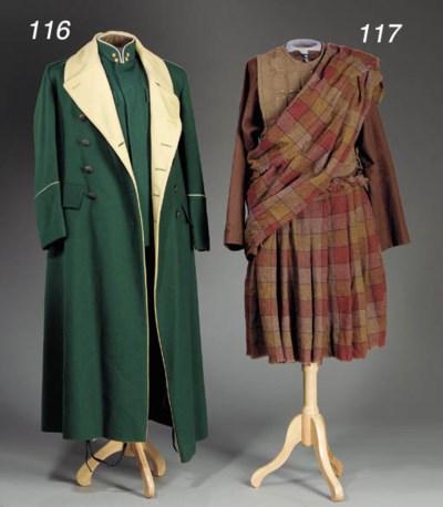 SCOTTISH WARRIOR COSTUME FROM