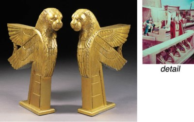 WINGED LION SUPPORTS FROM