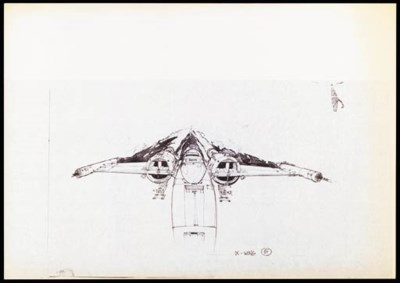 BLUEPRINTS OF X-WING FIGHTERS