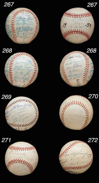 1960 MILWAUKEE BRAVES SIGNED B