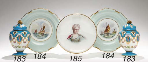 A PAIR OF ROYAL CROWN DERBY PA