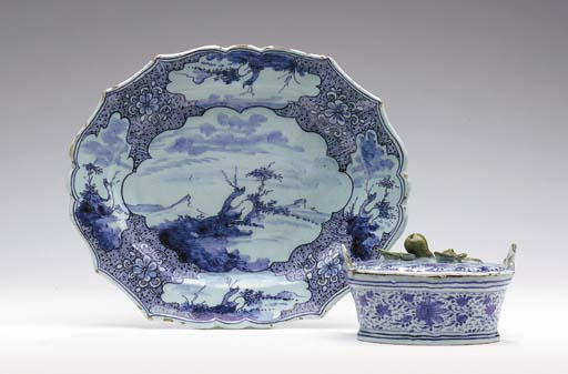 A DUTCH DELFT (DE PORCELEYNE C