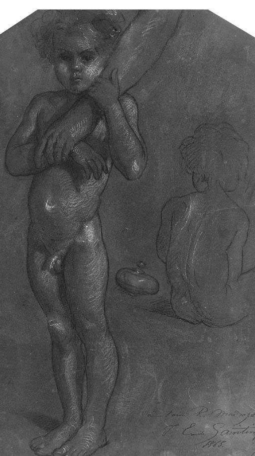 JULES-EMILE SAINTIN (1829-1894
