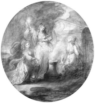 ANGELICA KAUFFMANN (Coire 1741