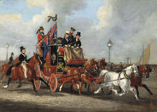 JAMES POLLARD (London 1792-186