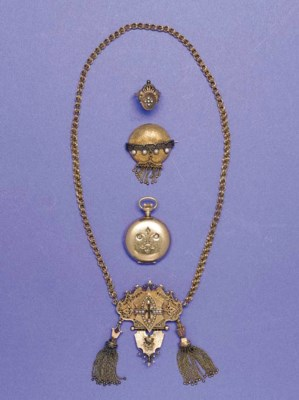 AN HISTORIC GROUP OF JEWELRY,
