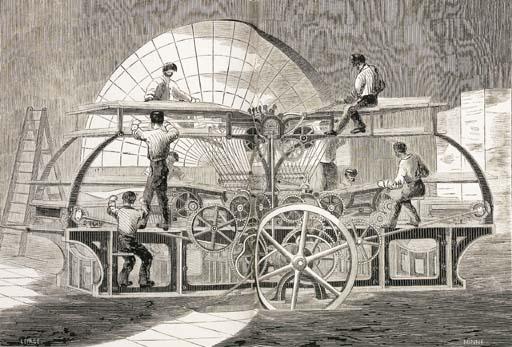 MONET, A. L. Les Machines et a