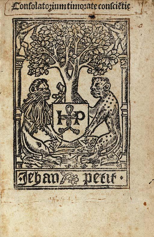 NIDER, Johannes. Consolatorium