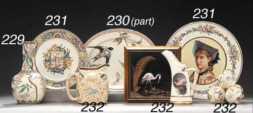 TWO ROYAL WORCESTER JAPONISME
