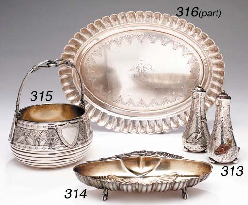 A PAIR OF AMERICAN SILVER AND