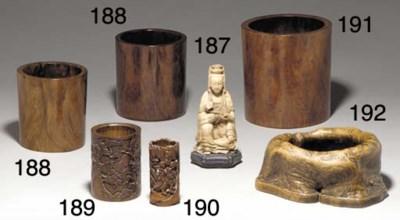 A Bamboo Brushpot