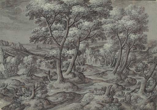 Circle of Hans Bol (1534-1593)