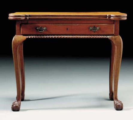 A CHIPPENDALE CHERRYWOOD AND W