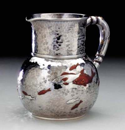 A SILVER AND MIXED-METAL WATER