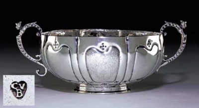 AN IMPORTANT LARGE SILVER TWO-