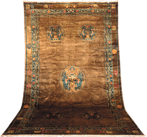 AN INDO CHINESE CARPET