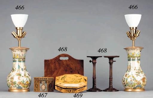 A GEORGE III HAND-COLORED PENW
