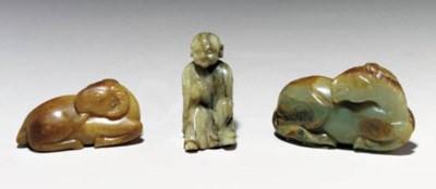 Three Small Jade Carvings