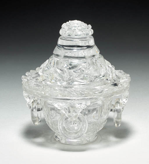 A Well-Carved Rock Crystal Cen
