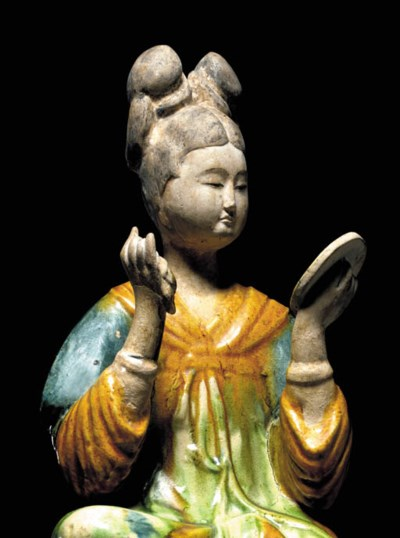 IMPORTANT TANG DYNASTY SANCAI-