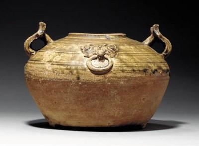 An Olive-Glazed Proto-Porcelai