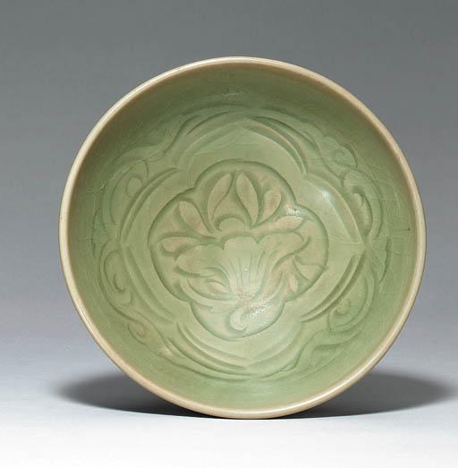 A Yaozhou Carved Bowl