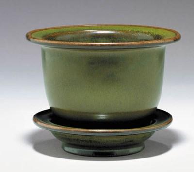 A Fine and Rare Teadust-Glazed