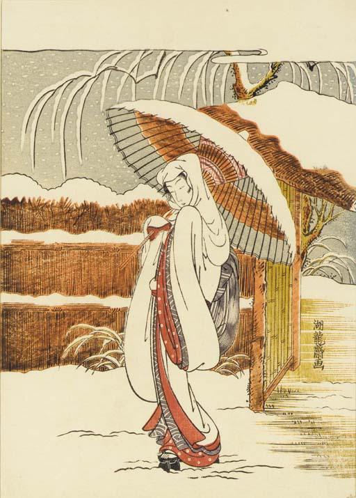 Isoda Koryusai (act.1768-1788)