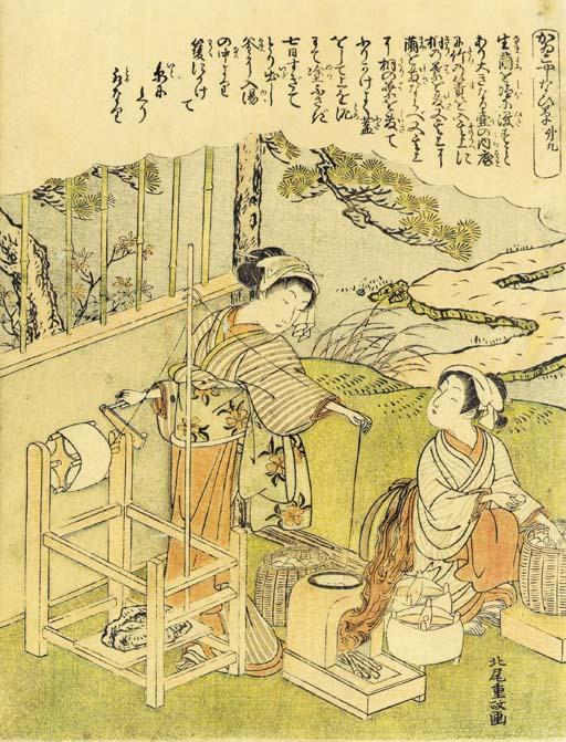Kitao Shigemasa (1739-1820)